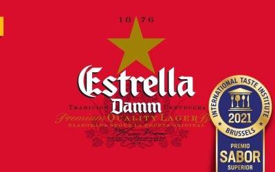 Estrella Damm: máxima puntuación en los Superior Taste Awards