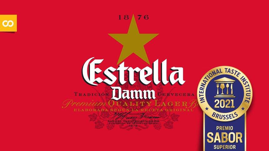 Estrella Damm: máxima puntuación en los Superior Taste Awards - Loopulo