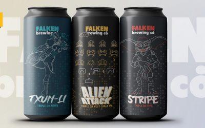 Falken Brewing arranca 2021 con una nueva gama de cervezas