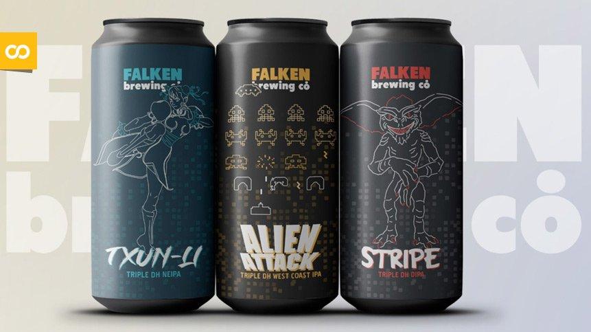 Falken Brewing arranca 2021 con una nueva gama de cervezas - Loopulo