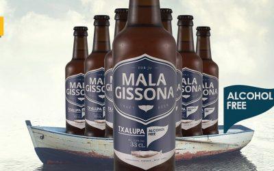 Txalupa: Mala Gissona lanza su primera cerveza artesana sin alcohol