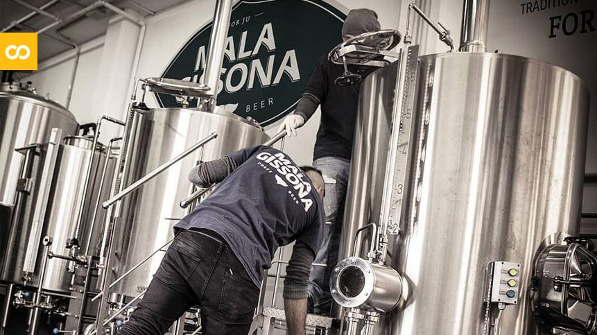 Txalupa: Mala Gissona lanza su primera cerveza artesana sin alcohol - Loopulo