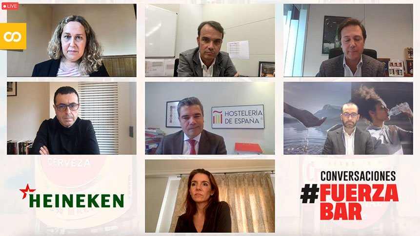 Conversaciones #FUERZABAR: La hostelería y Heineken España mandan un mensaje de apoyo al sector | Loopulo