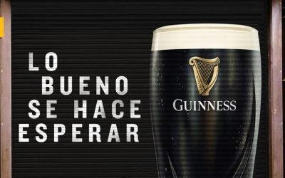 Guinness y Paulaner se unen a Shutter Ads en apoyo a los bares a través de sus persianas