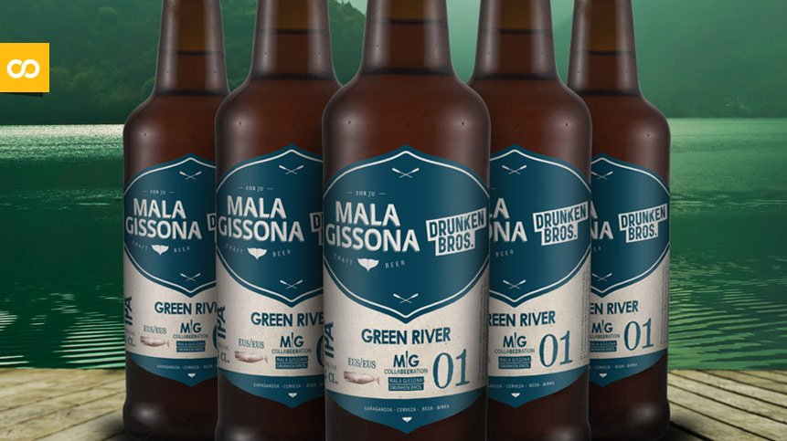 MALA GISSONA y DRUNKEN BROS lanzan una Doble IPA colaborativa - Loopulo