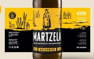 Martzela, la nueva cerveza de trigo de Boga Garagardoa