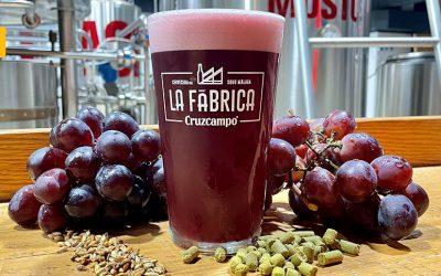 Cruzcampo Grape Beer, la nueva cerveza de La Fábrica de Málaga
