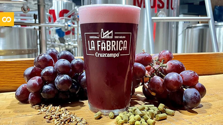 Cruzcampo Grape Beer, la nueva cerveza de La Fábrica de Málaga   Loopulo