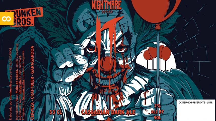Etiqueta Druken Bros Nightmare Series | Loopulo
