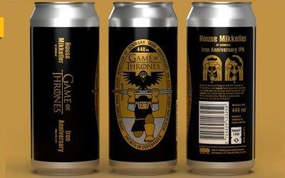 Iron Annivesary IPA: la cerveza de Game of Thrones elaborada por Mikkeller