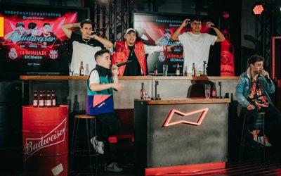Budweiser hace historia retransmitiendo el ElClásico a ritmo de freestyle