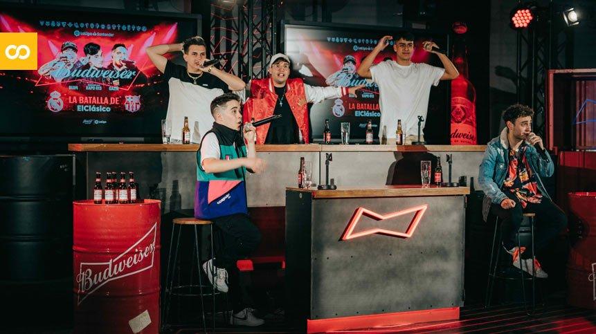 Budweiser hace historia retransmitiendo el ElClásico a ritmo de freestyle | Loopulo