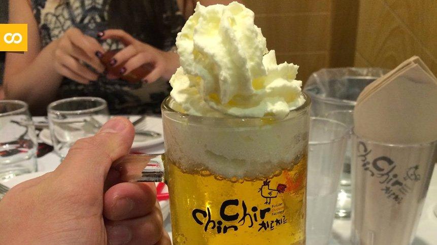 Cerveza con nata, la tendencia que nos llega desde Corea y Japón | Loopulo