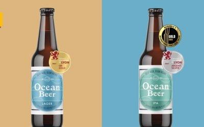 Ocean Beer, la cerveza de la Fundación Ocean Born consigue dos medallas en el concurso internacional de Lyon
