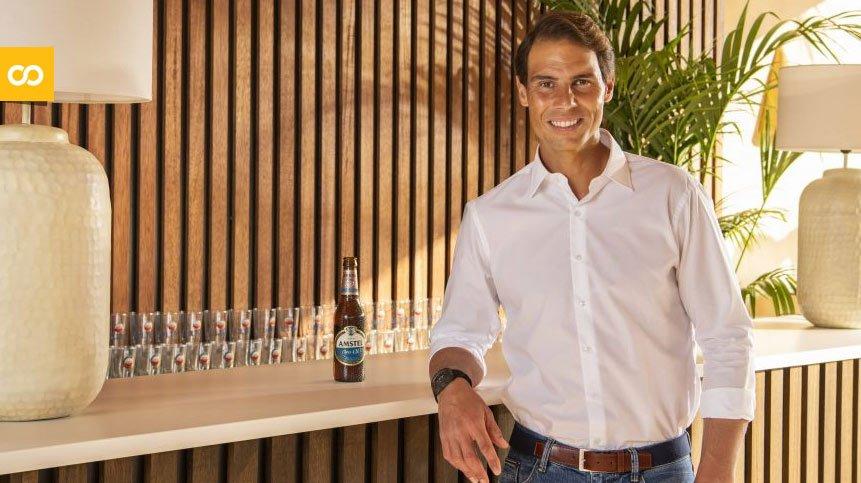 Rafa Nadal se convierte en nuevo embajador de Amstel Oro 0,0 | Loopulo