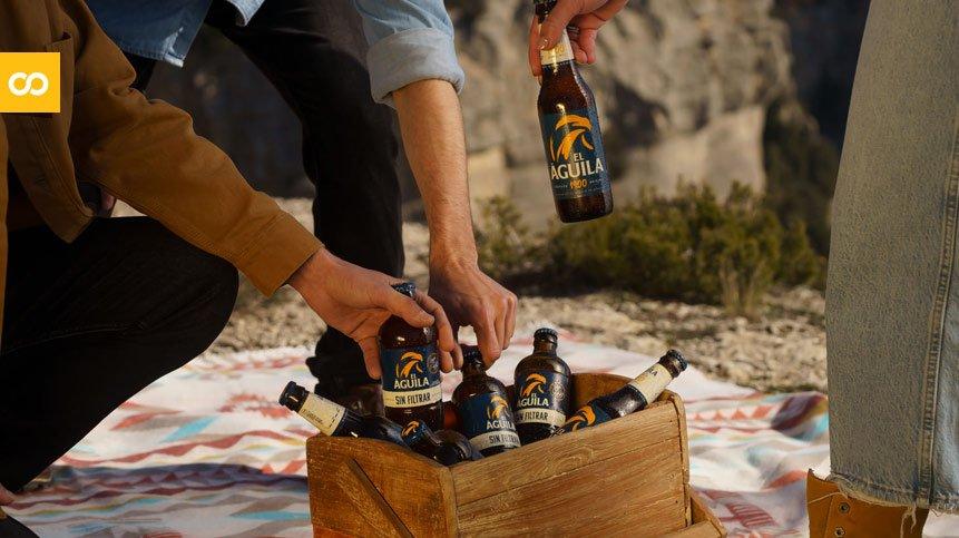 Saborea tu libertad, la primera campaña de comunicación de Cervezas El Águila | Loopulo