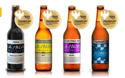 LA SALVE entrega las medallas del Frankfurt Beer Trophy a los comercios y hosteleros de Bilbao