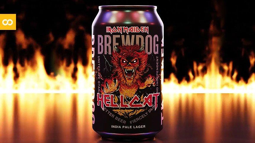 Iron Maiden y BrewDog presentan la India Pale Lager Hellcat | Loopulo