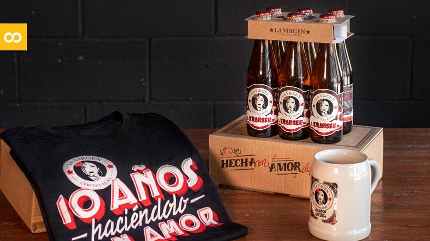 Krausen: Cervezas La Virgen celebra su décimo aniversario con nueva cerveza - Loopulo