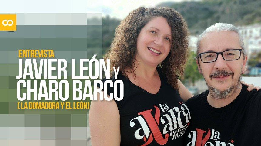 Entrevista a Javier León y Charo Barco, responsables de La Domadora y el León - Loopulo
