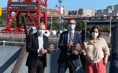 LA SALVE entrega las medallas del BBC a Itsasmuseum Bilbao