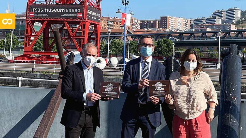 LA SALVE entrega las medallas del BBC a Itsasmuseum Bilbao - Loopulo