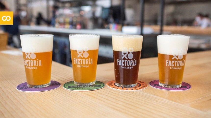 Las cervezas artesanas de Factoría Cruzcampo – Loopulo
