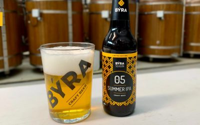 SUMMER IPA: BÝRA elabora una nueva cerveza para el verano