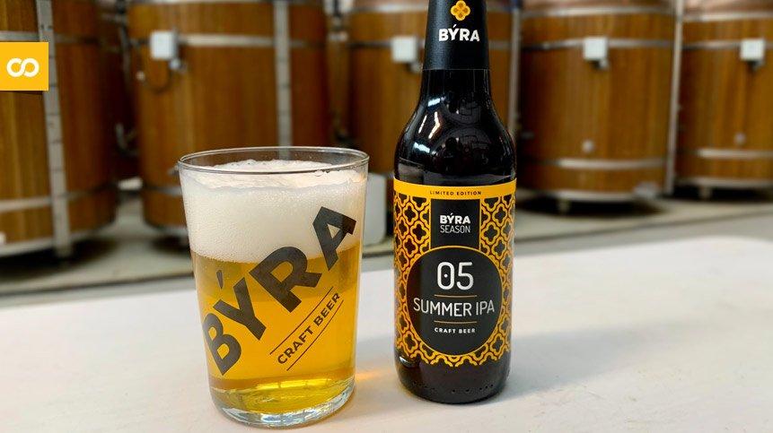 SUMMER IPA: BÝRA elabora una nueva cerveza para el verano – Loopulo
