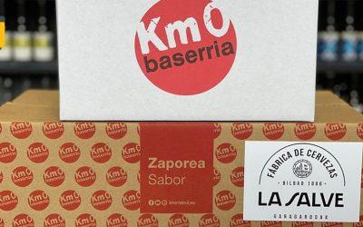 LA SALVE y Baserria KM0, juntos por el consumo de productos locales