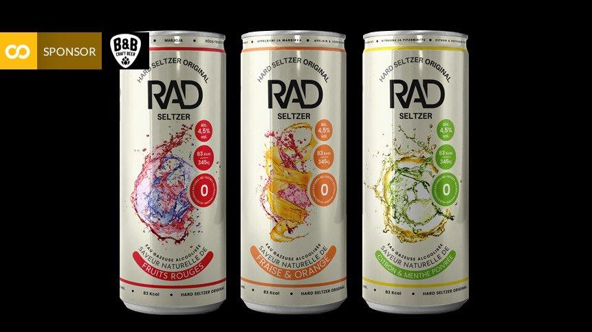 Así es RAD, el Hard Seltzer español que triunfa en Francia - Loopulo