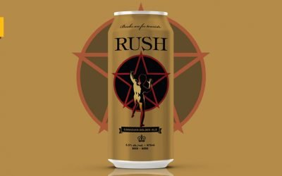 La banda Rush lanza hoy su craft beer Rush Canadian Golden Ale