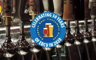 European Beer Consumers Union cumple su 30 aniversario y quiere celebrarlo contigo
