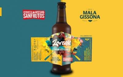 Mala Gissona y San Frutos lanzan la craft colaborativa LOREAK