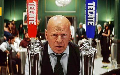 Bruce Willis repite campaña con Tecate y Rock The Agency