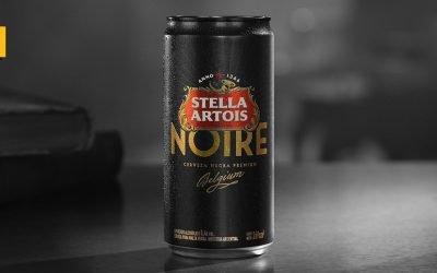 Stella Artois presenta la lata Noire de 269 ml