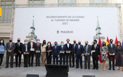 El Ayuntamiento de Madrid reconoce a Mahou San Miguel por su apoyo al sector hostelero y turístico
