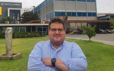 Enrique Alonso Montoya, nuevo director del centro de producción de Mahou San Miguel en Córdoba