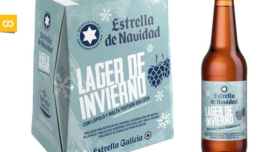 Lager de Invierno: Estrella Galicia lanza su nueva cerveza de Navidad - Loopulo